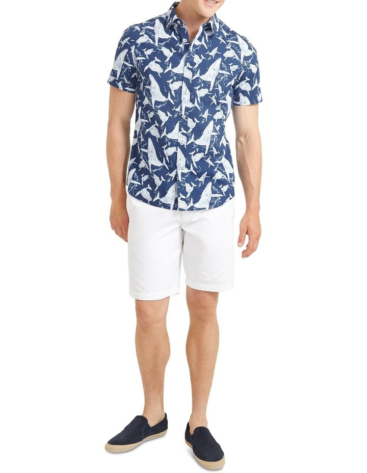 Whale Short Sleeve Print Shirt image 4