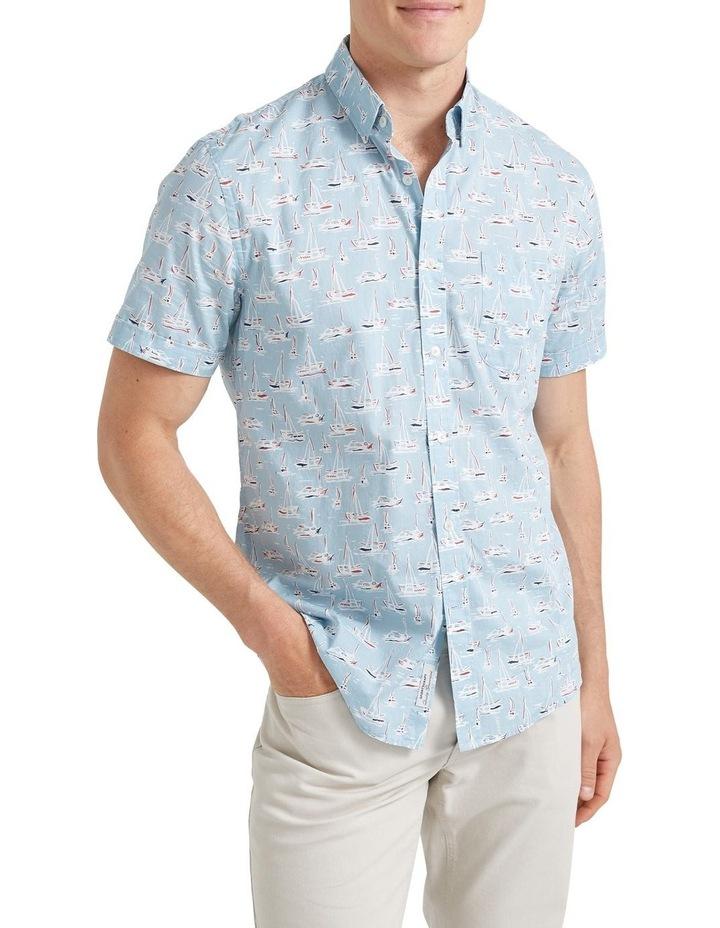 Vessel Short Sleeve Voile Shirt image 1