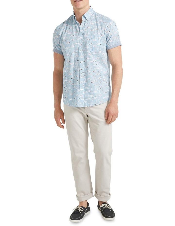 Vessel Short Sleeve Voile Shirt image 3