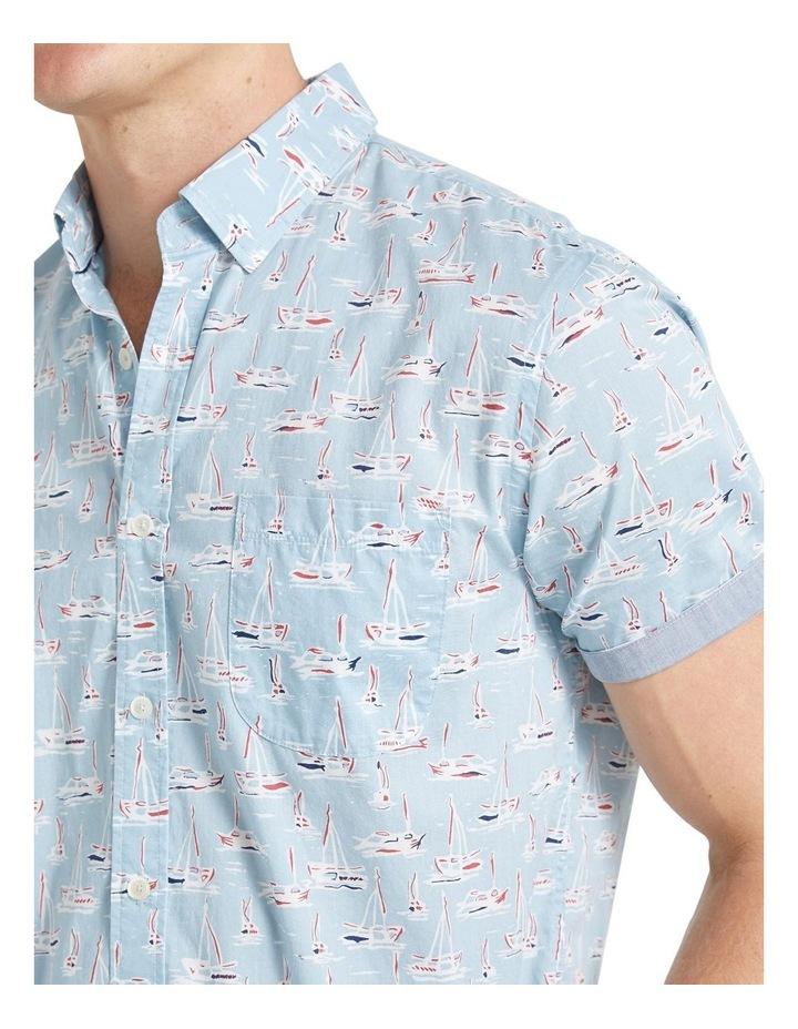 Vessel Short Sleeve Voile Shirt image 4