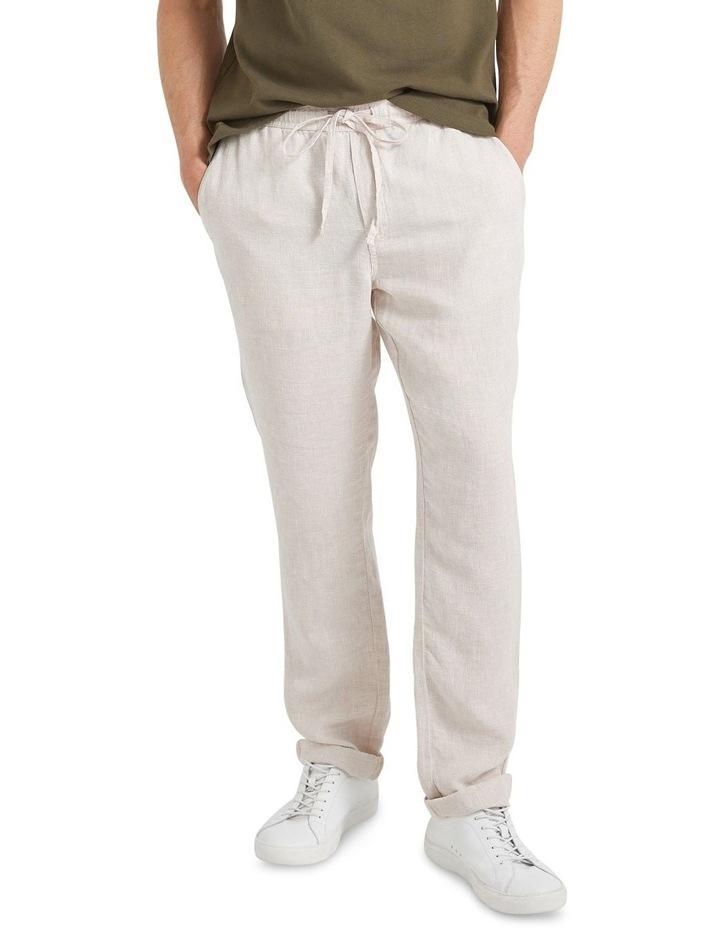Tropic Drawstring Linen Pant image 1