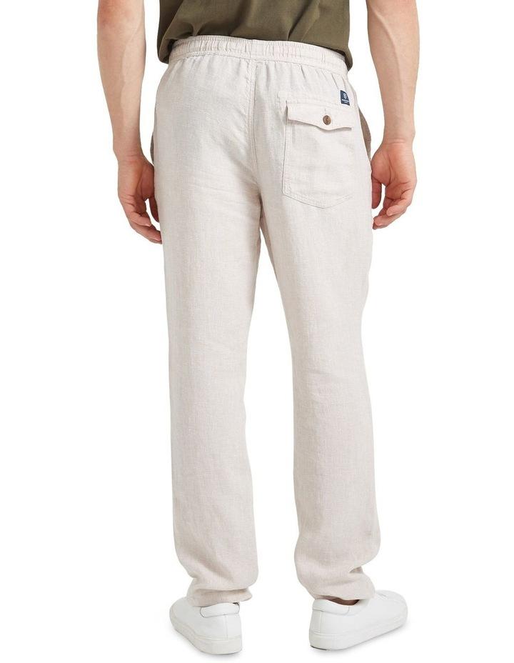 Tropic Drawstring Linen Pant image 4