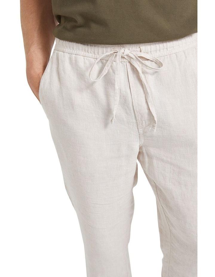 Tropic Drawstring Linen Pant image 5
