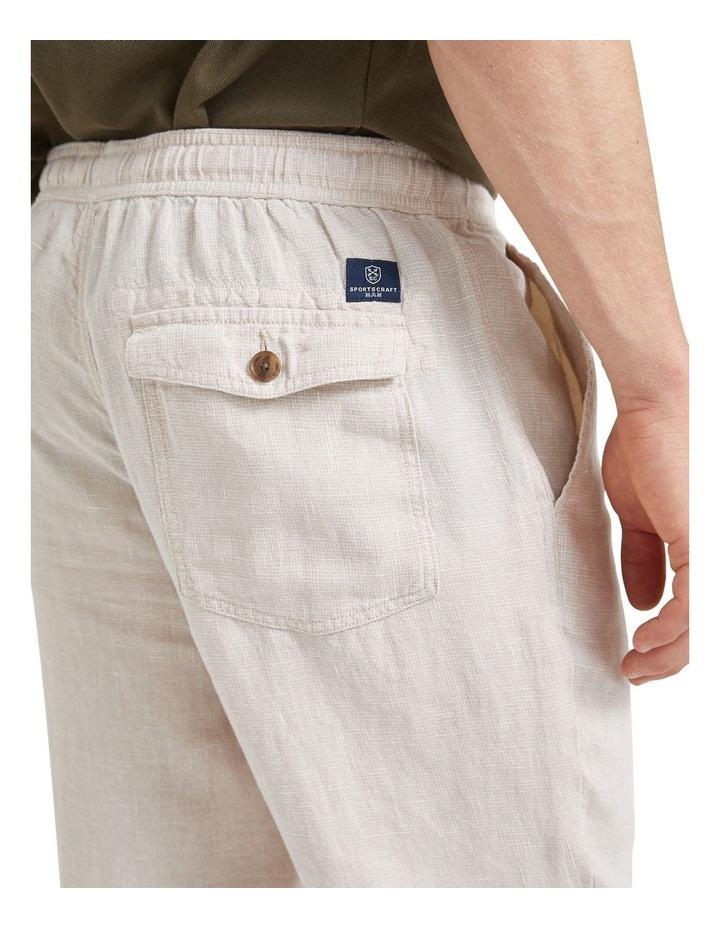 Tropic Drawstring Linen Pant image 6