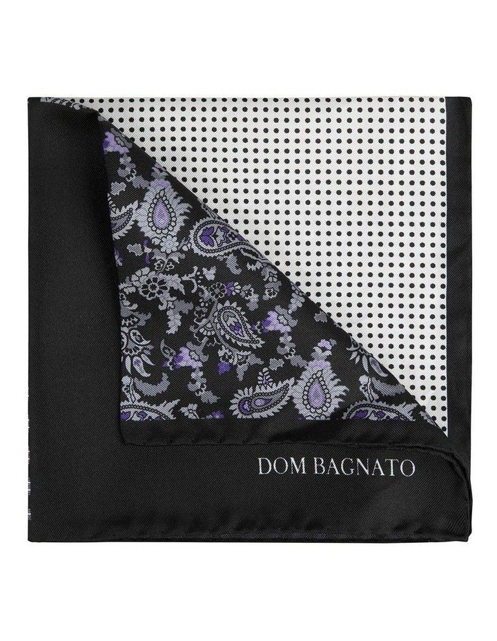 Purple Neat 4-Way Pocket Square image 2