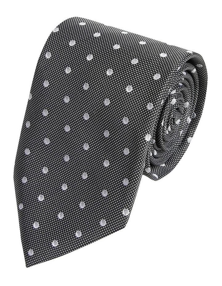 Black and White Milano Tie image 1