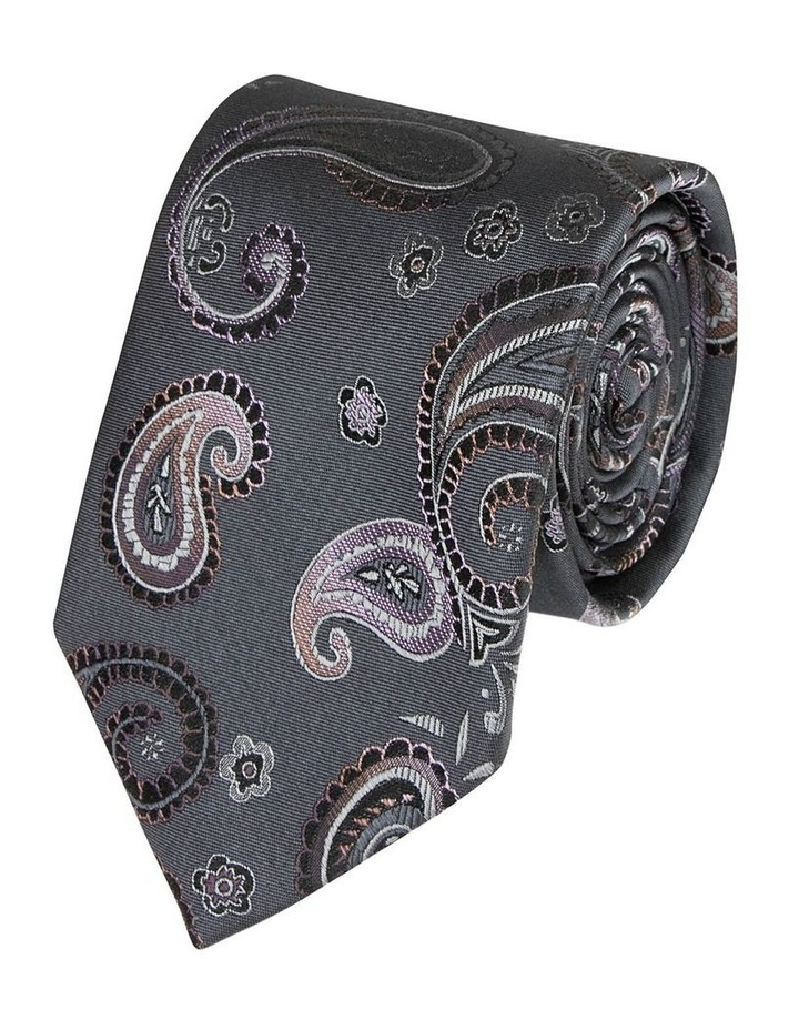 Pink Lucca Paisley Tie image 1