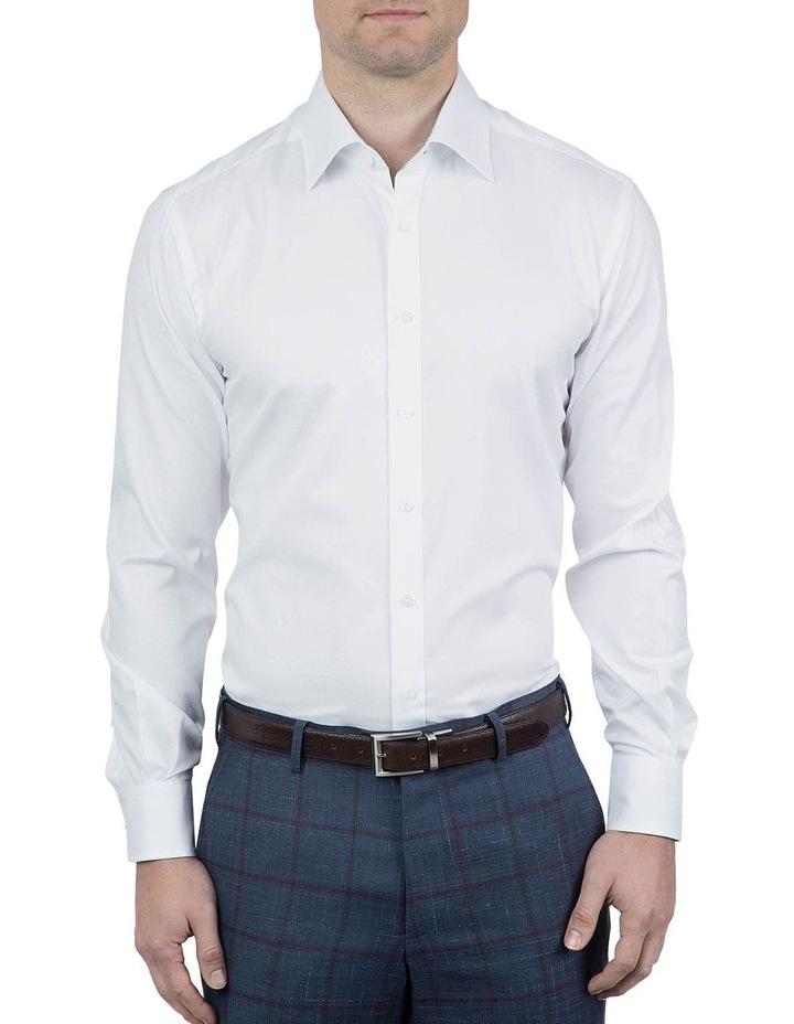 Tailored Fit White Giorgio Shirt image 1