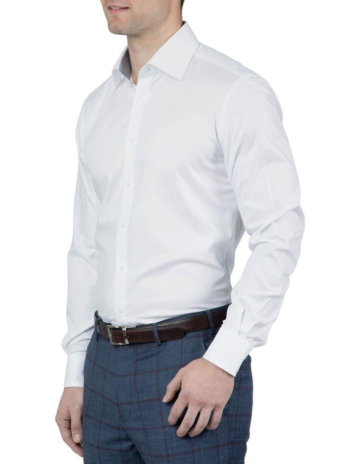 Tailored Fit White Giorgio Shirt image 2