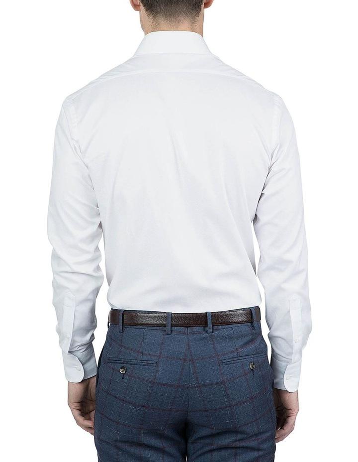 Tailored Fit White Giorgio Shirt image 3