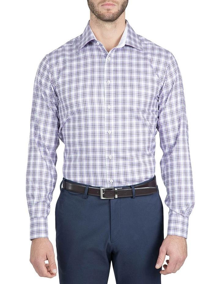 Tailored Fit Plum Giorgio Shirt image 1