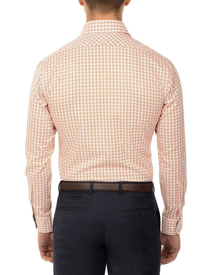 Tailored Fit Rust Giorgio Shirt image 3