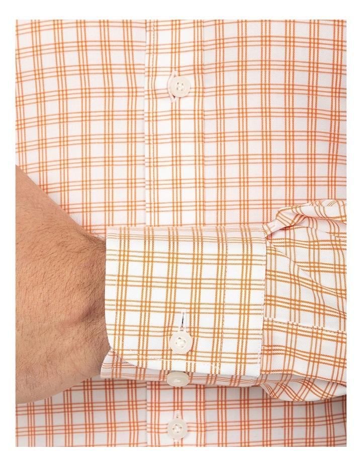 Tailored Fit Rust Giorgio Shirt image 4