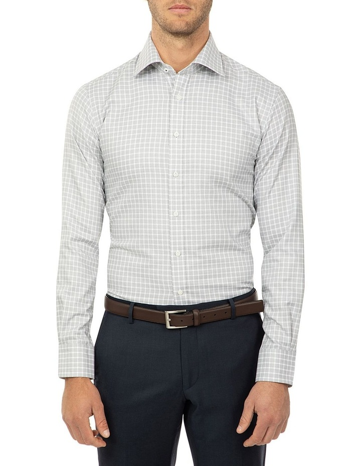 Tailored Fit Black and White Giorgio Shirt image 1