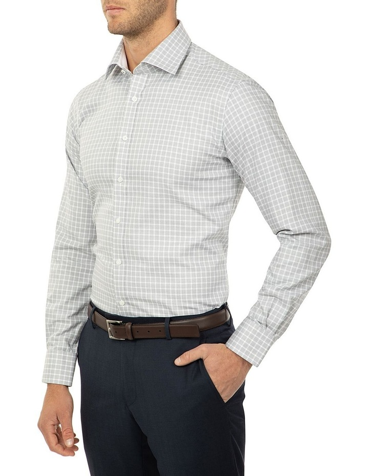 Tailored Fit Black and White Giorgio Shirt image 2