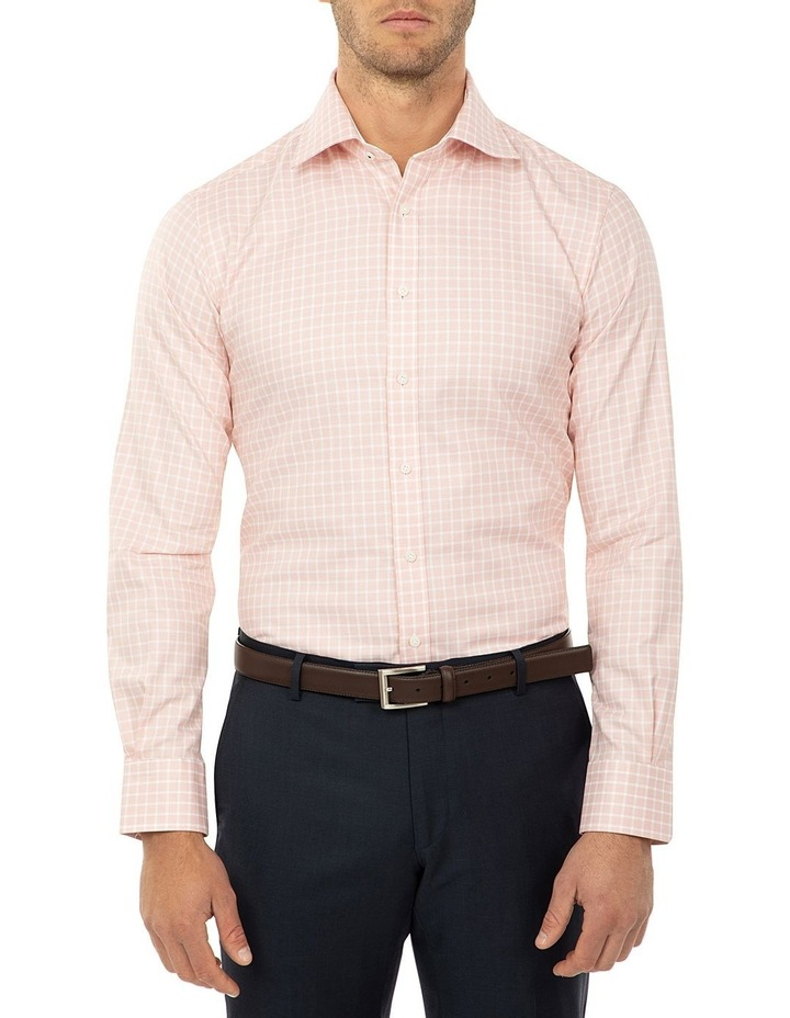 Tailored Fit Rust Giorgio Shirt image 1