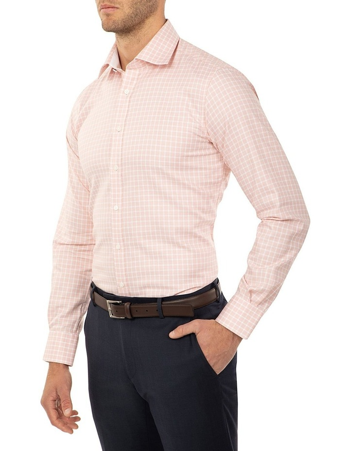 Tailored Fit Rust Giorgio Shirt image 2
