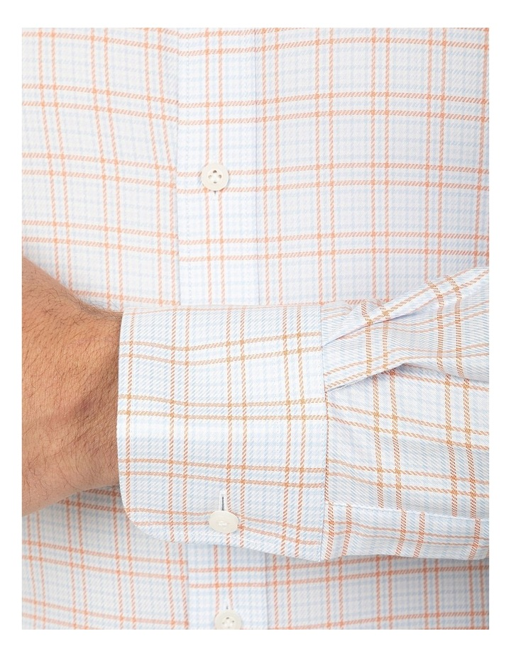 Tailored Fit Rust Giorgio Shirt image 4