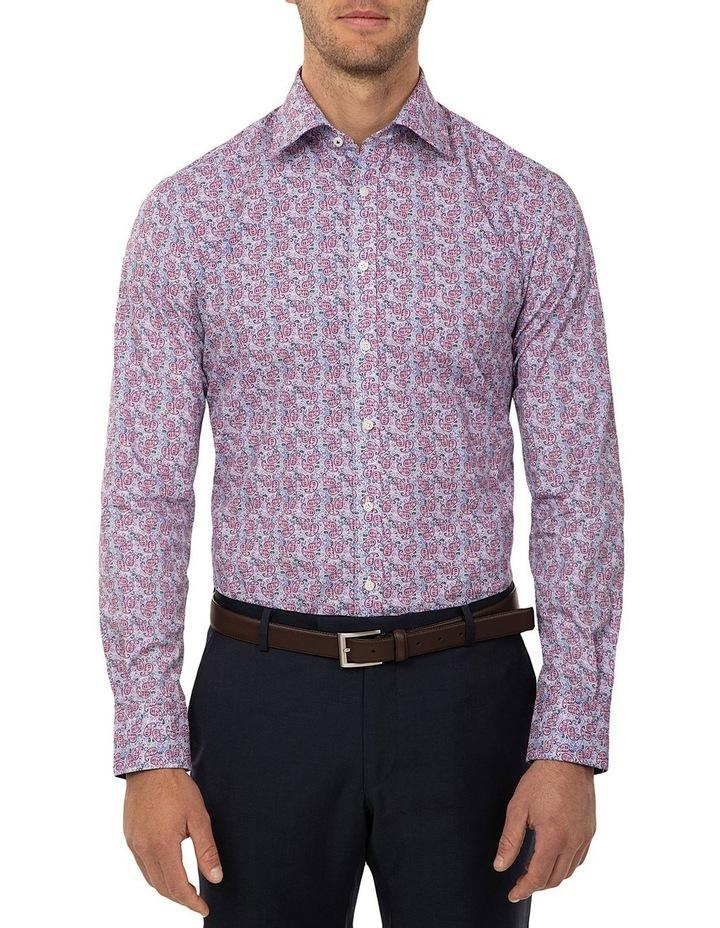 Tailored Fit Dark Purple Giorgio Shirt image 1
