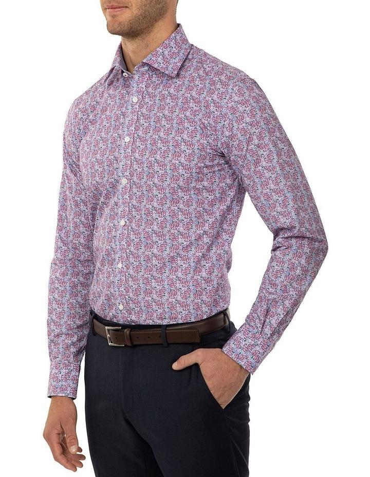 Tailored Fit Dark Purple Giorgio Shirt image 2