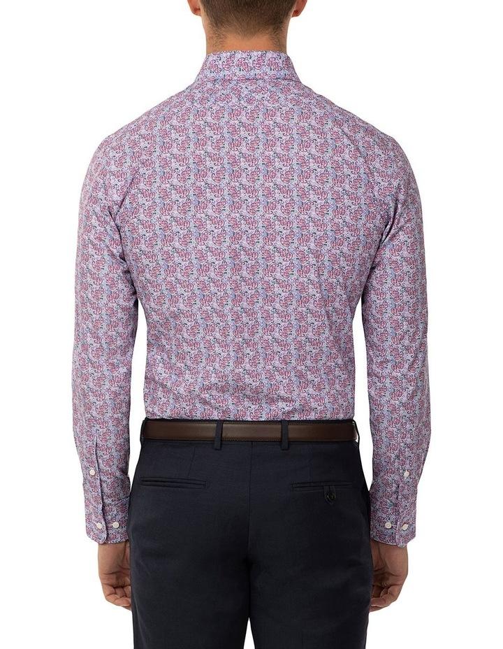 Tailored Fit Dark Purple Giorgio Shirt image 3