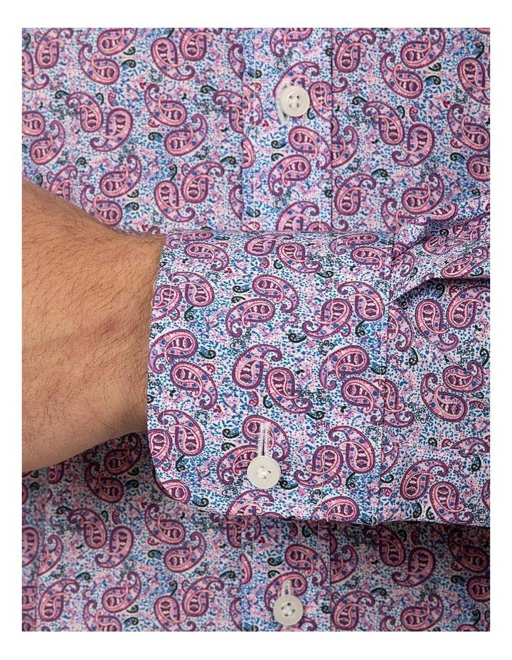Tailored Fit Dark Purple Giorgio Shirt image 4