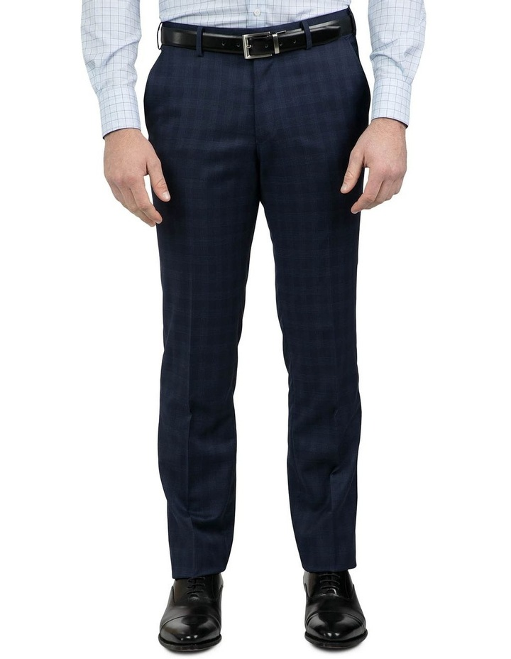 Tailored Fit Navy Fabio Trouser image 1