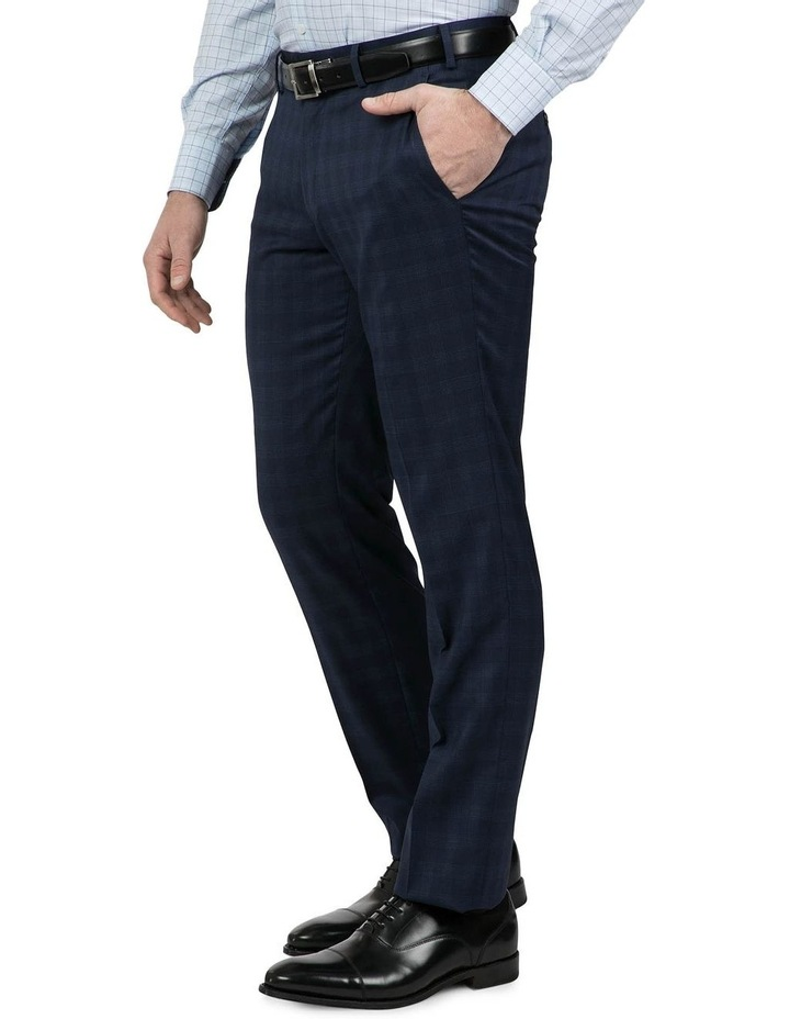 Tailored Fit Navy Fabio Trouser image 2
