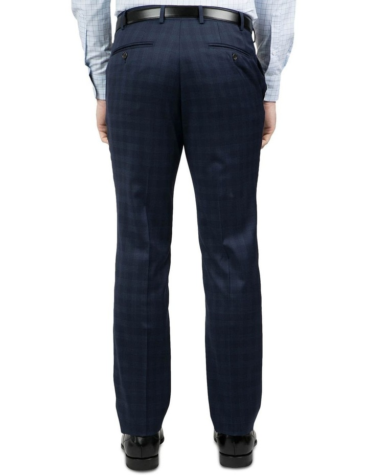 Tailored Fit Navy Fabio Trouser image 3