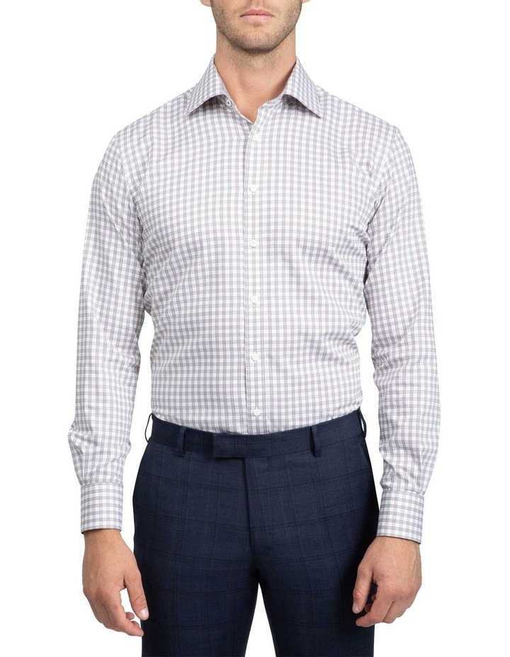 Brown Tailored Fit Giorgio Shirt image 1