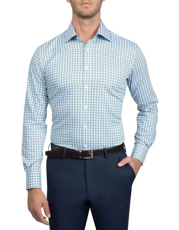 Teal Tailored Fit Giorgio Shirt image 1