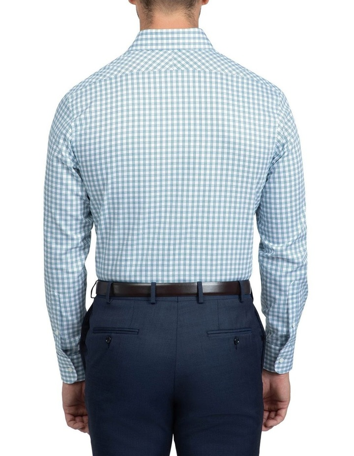 Teal Tailored Fit Giorgio Shirt image 3