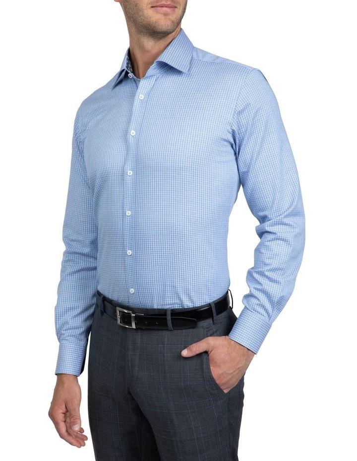 Blue Tailored Fit Giorgio Shirt image 2