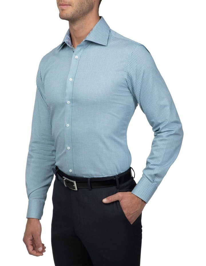 Teal Tailored Fit Giorgio Shirt image 2