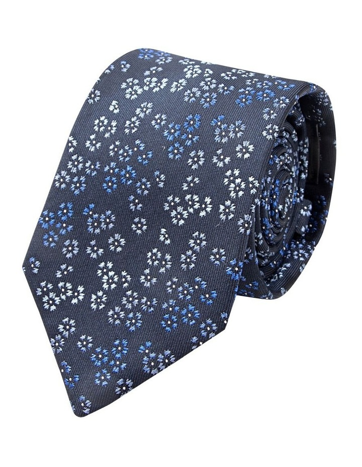 Blue Dianthus Silk Tie image 1