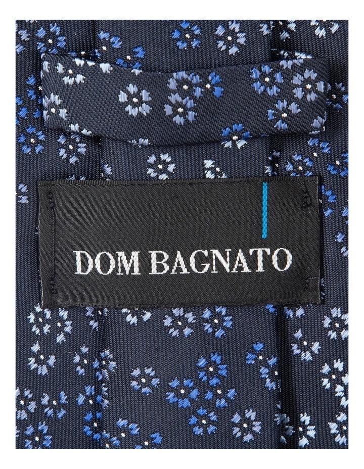 Blue Dianthus Silk Tie image 2