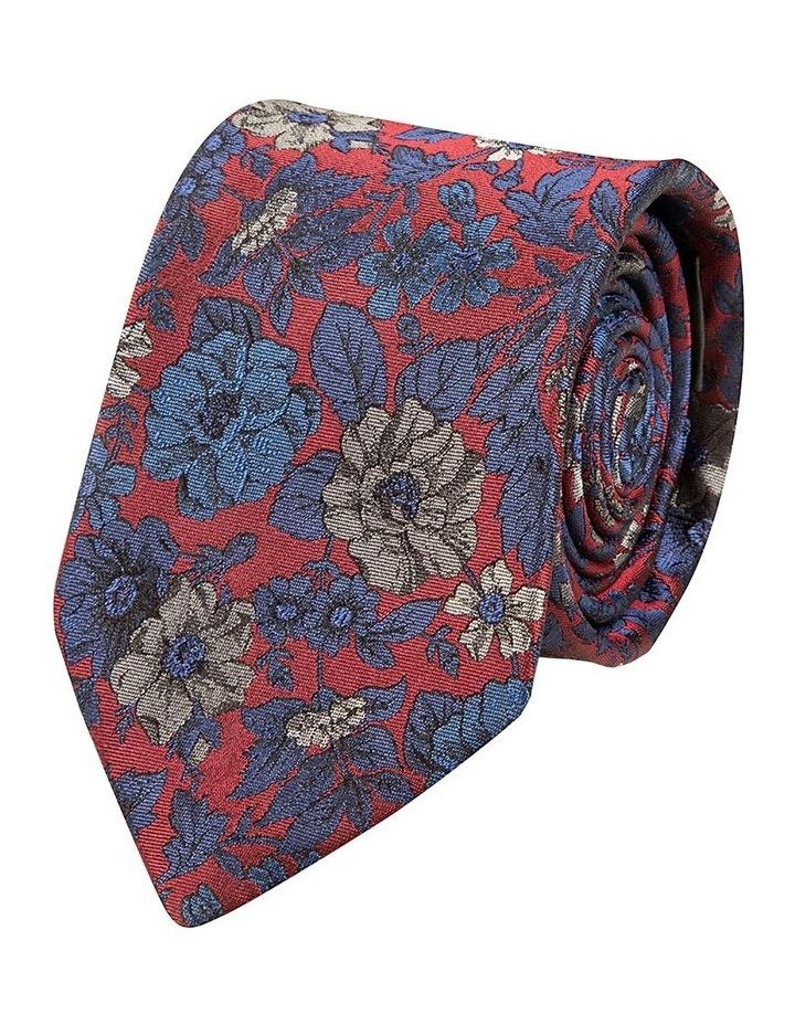 Red Giardino Silk Tie image 1