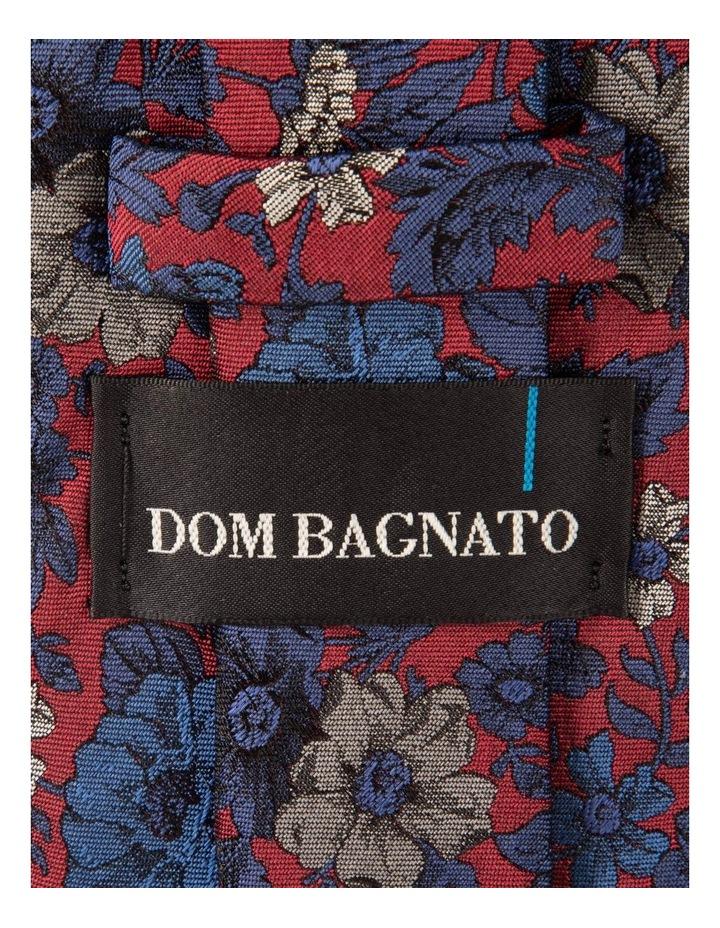 Red Giardino Silk Tie image 2