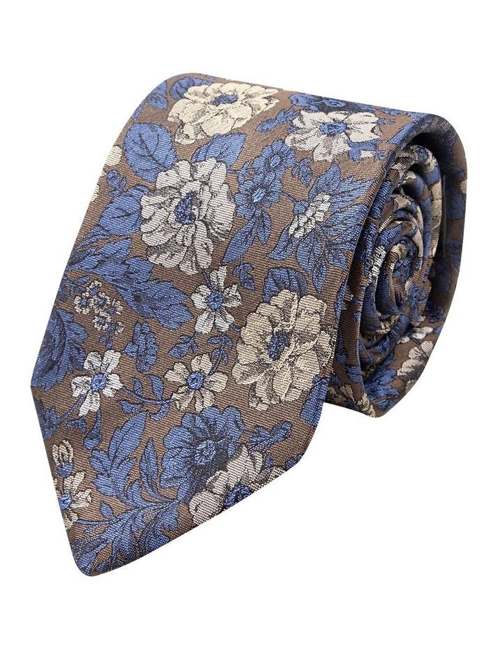 Taupe Giardino Silk Tie image 1