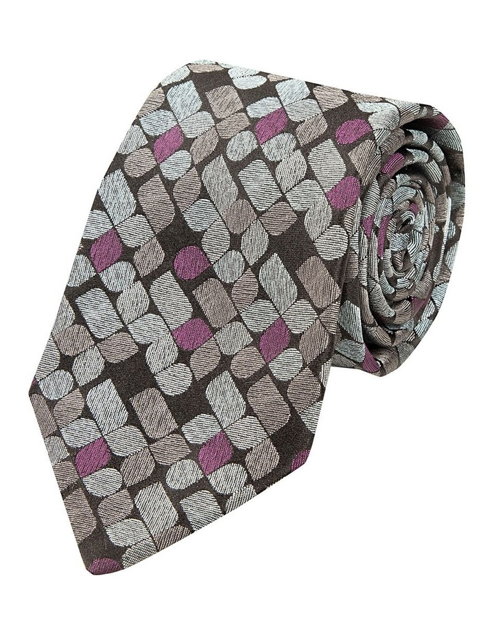 Plum Ottanta Silk Tie image 1