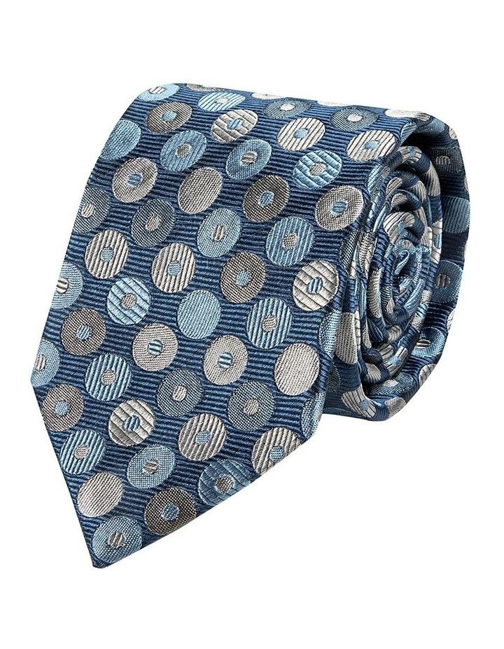 Blue Dischi Silk Tie image 1