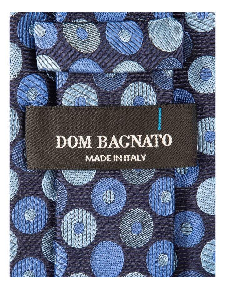 Blue Dischi Silk Tie image 2