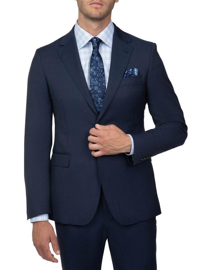 Dark Blue Tailored Fit Stefano Jacket FCJ351 image 1