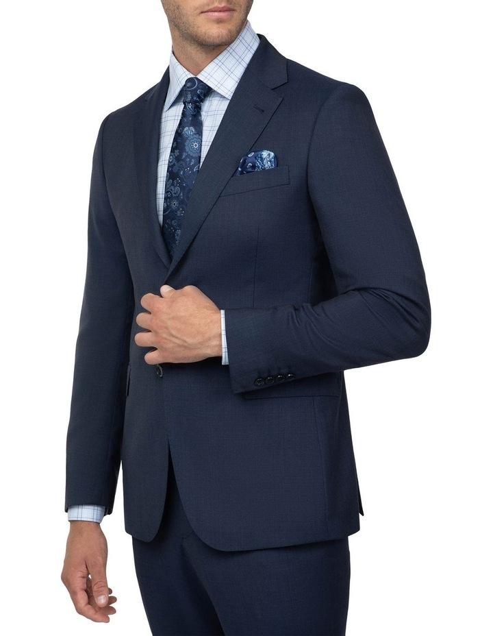 Dark Blue Tailored Fit Stefano Jacket FCJ351 image 2