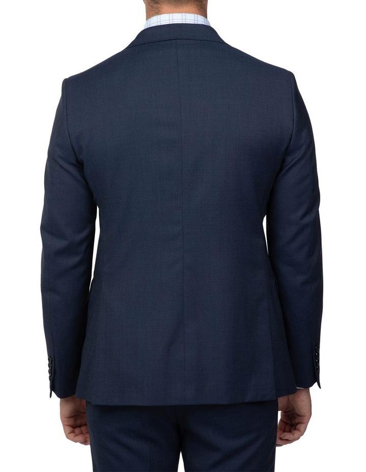 Dark Blue Tailored Fit Stefano Jacket FCJ351 image 3