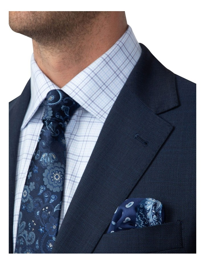 Dark Blue Tailored Fit Stefano Jacket FCJ351 image 4
