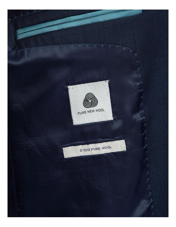 Dark Blue Tailored Fit Stefano Jacket FCJ351 image 5