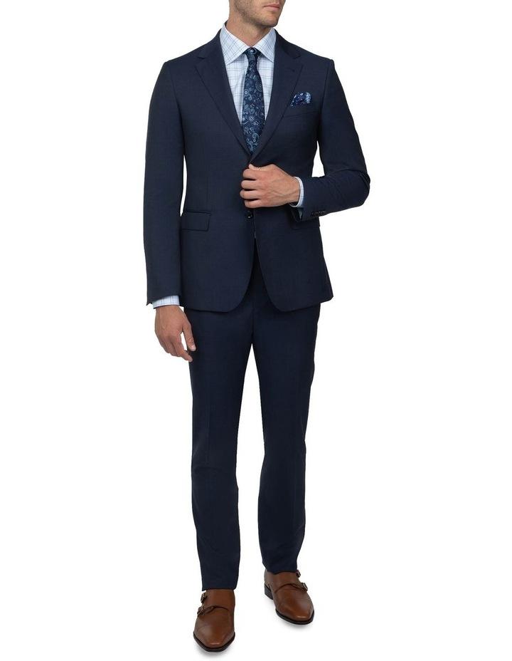 Dark Blue Tailored Fit Stefano Jacket FCJ351 image 6