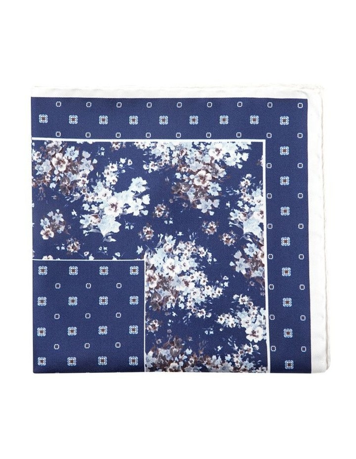 Grey Gypsophila Pocket Square image 1