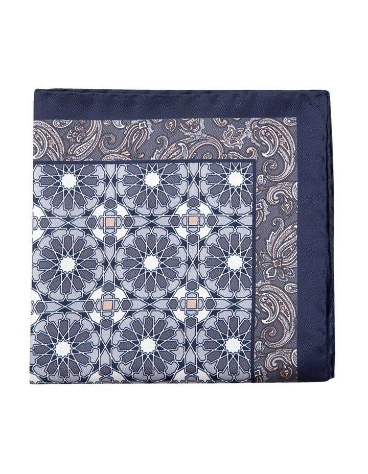Grey Turco Pocket Square image 1